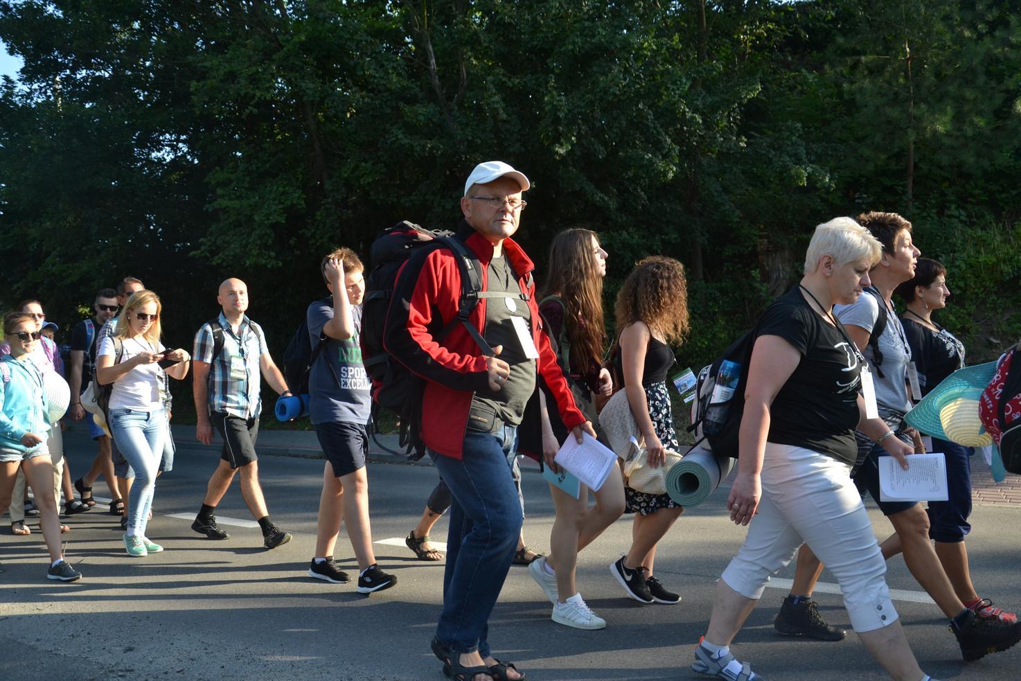 Pierwszy dzień pielgrzymki do Kalwarii Pacławskiej (15)