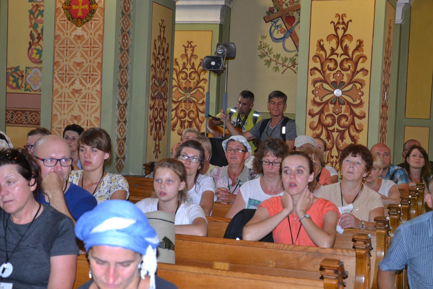 Pierwszy dzień pielgrzymki do Kalwarii Pacławskiej (151)
