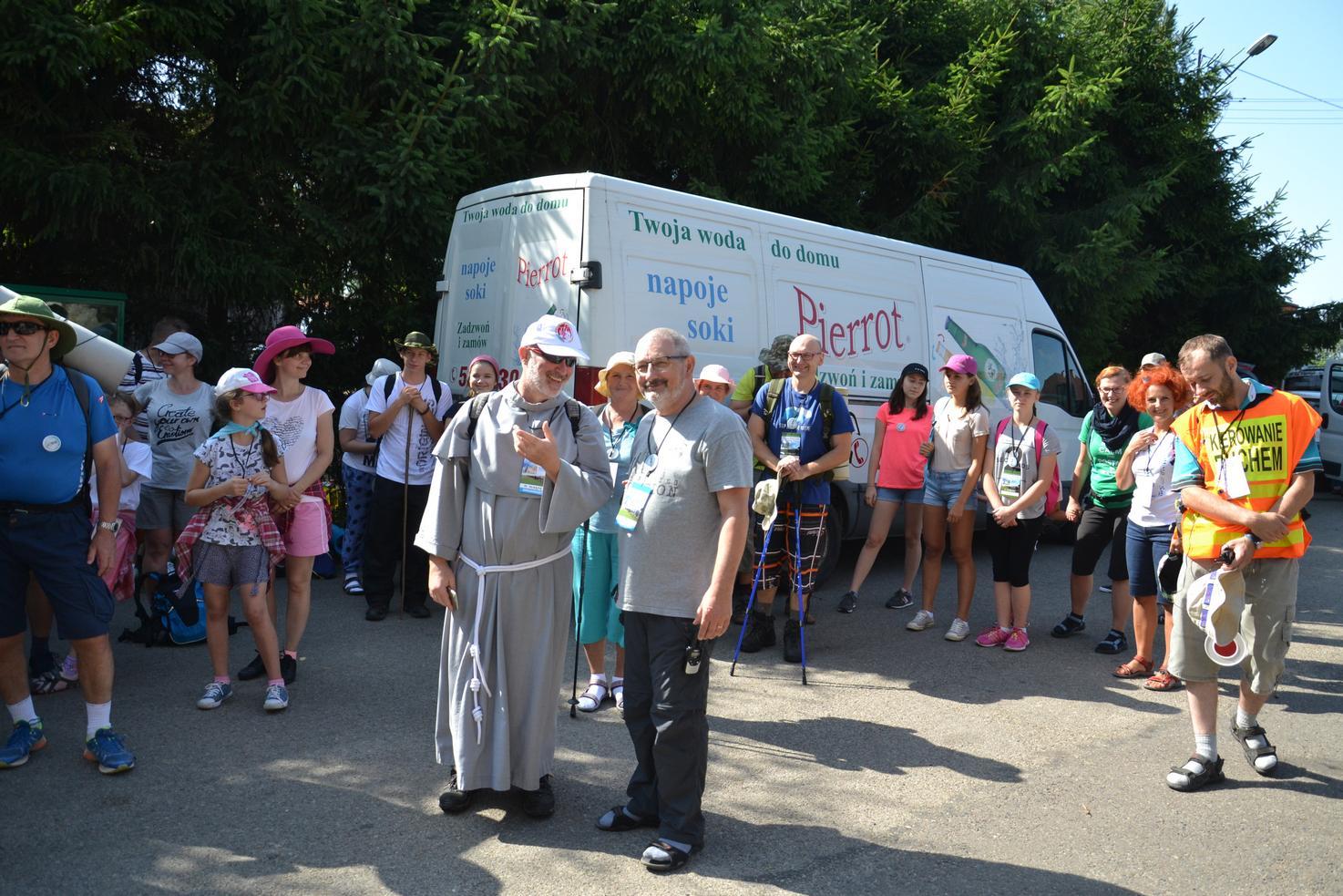 Pierwszy dzień pielgrzymki do Kalwarii Pacławskiej (44)