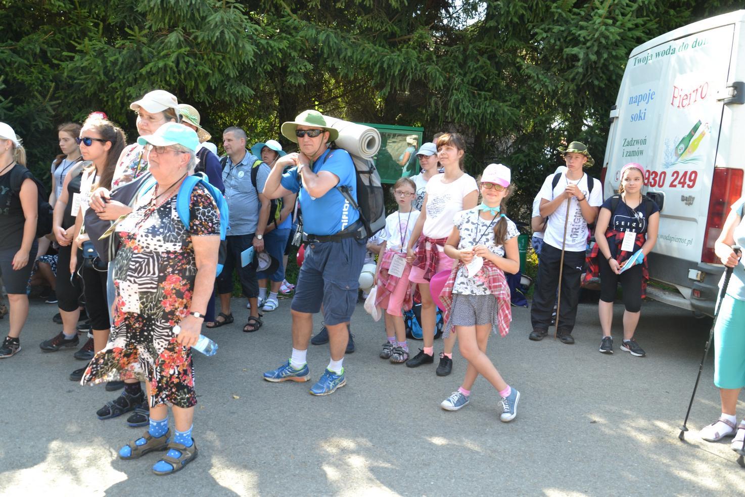 Pierwszy dzień pielgrzymki do Kalwarii Pacławskiej (46)
