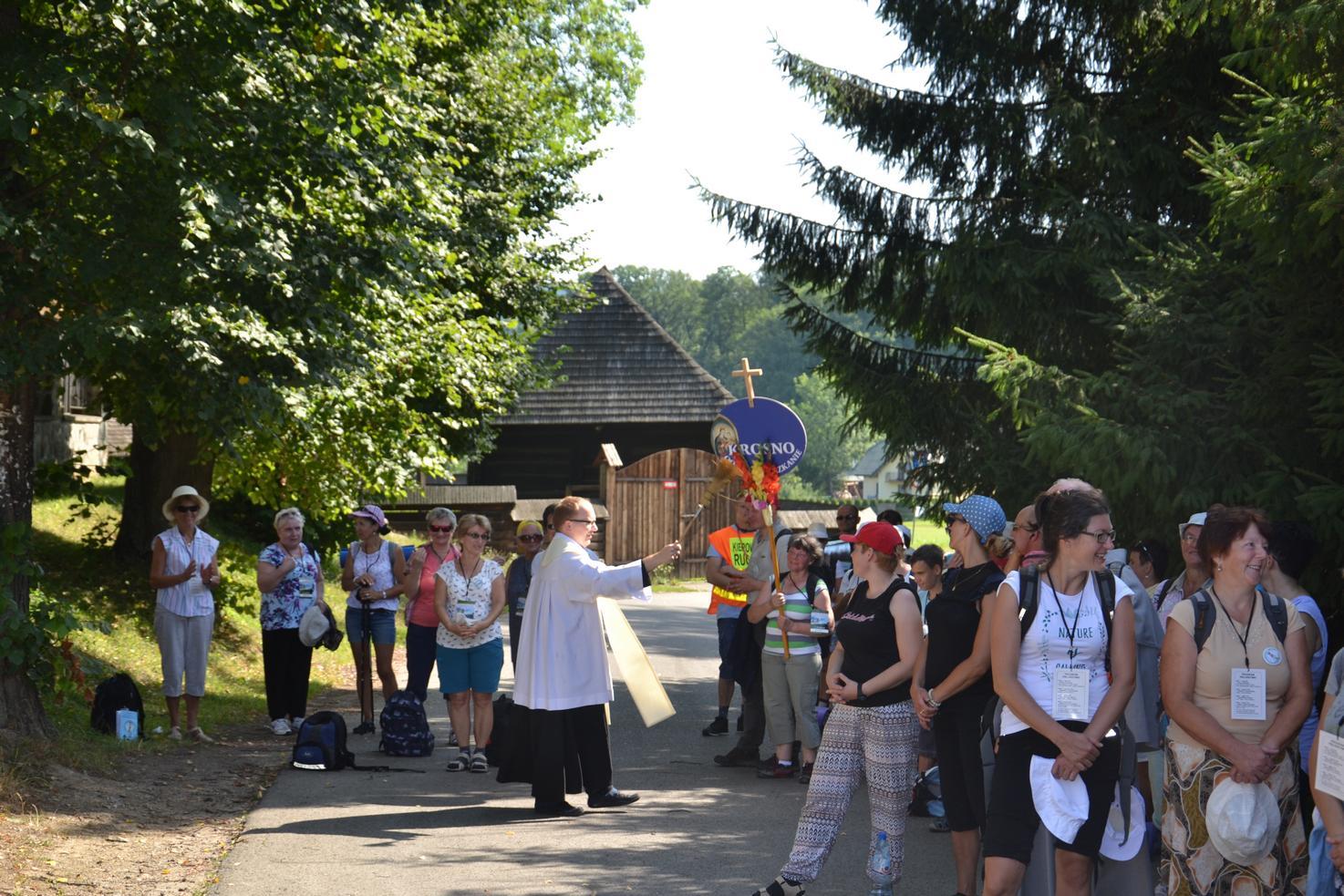 Pierwszy dzień pielgrzymki do Kalwarii Pacławskiej (47)