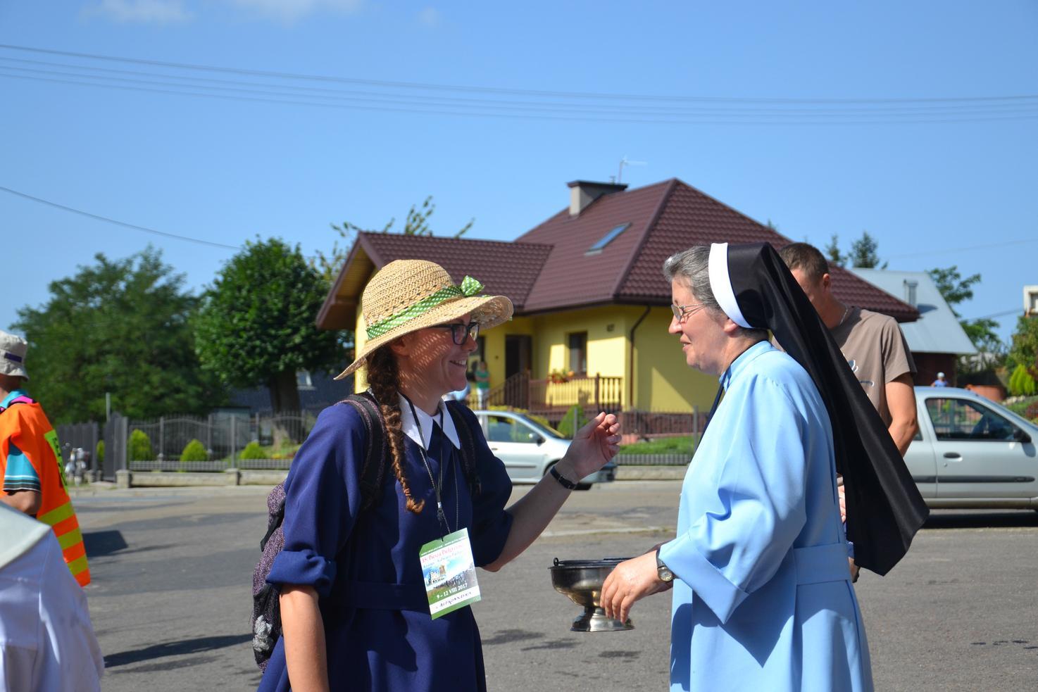 Pierwszy dzień pielgrzymki do Kalwarii Pacławskiej (49)