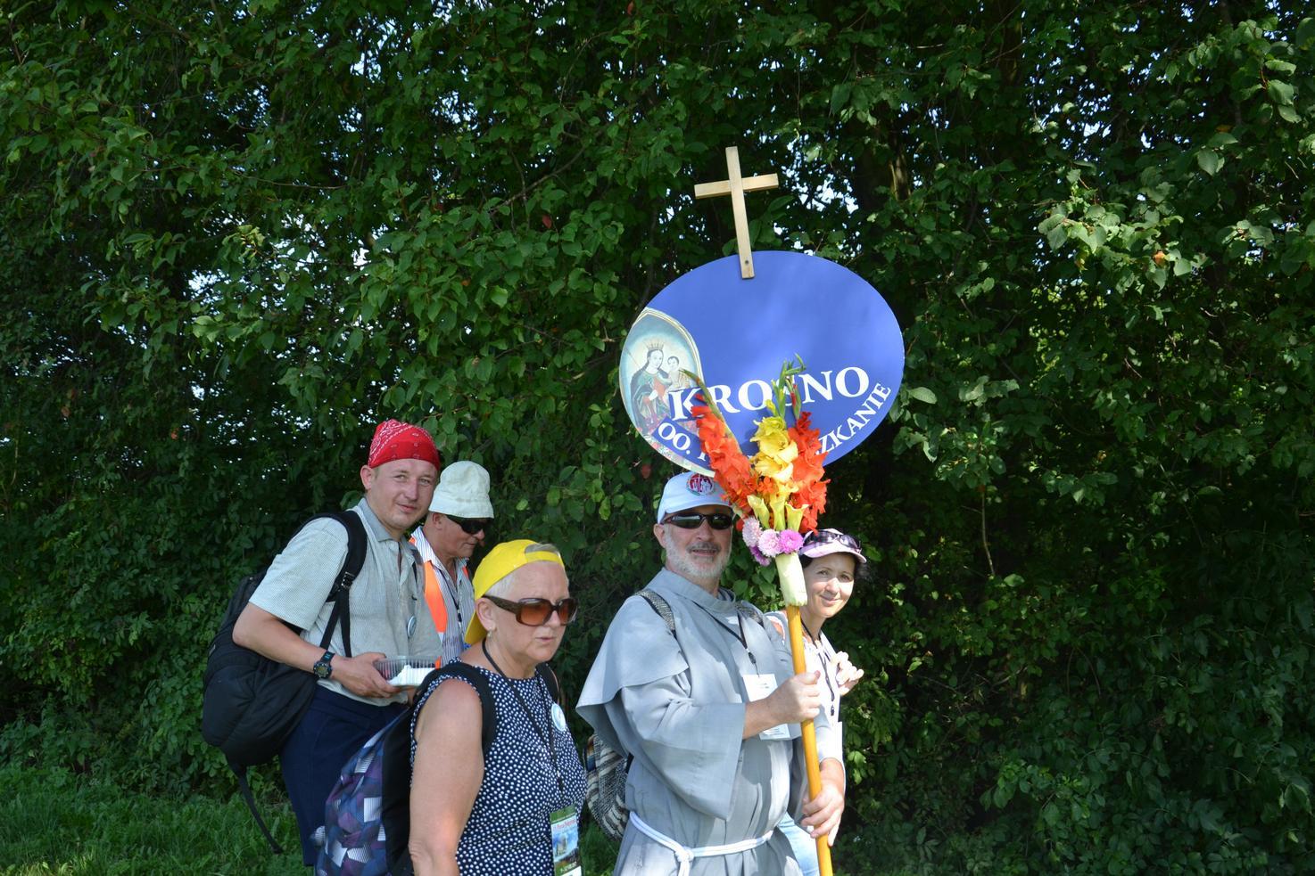 Pierwszy dzień pielgrzymki do Kalwarii Pacławskiej (54)