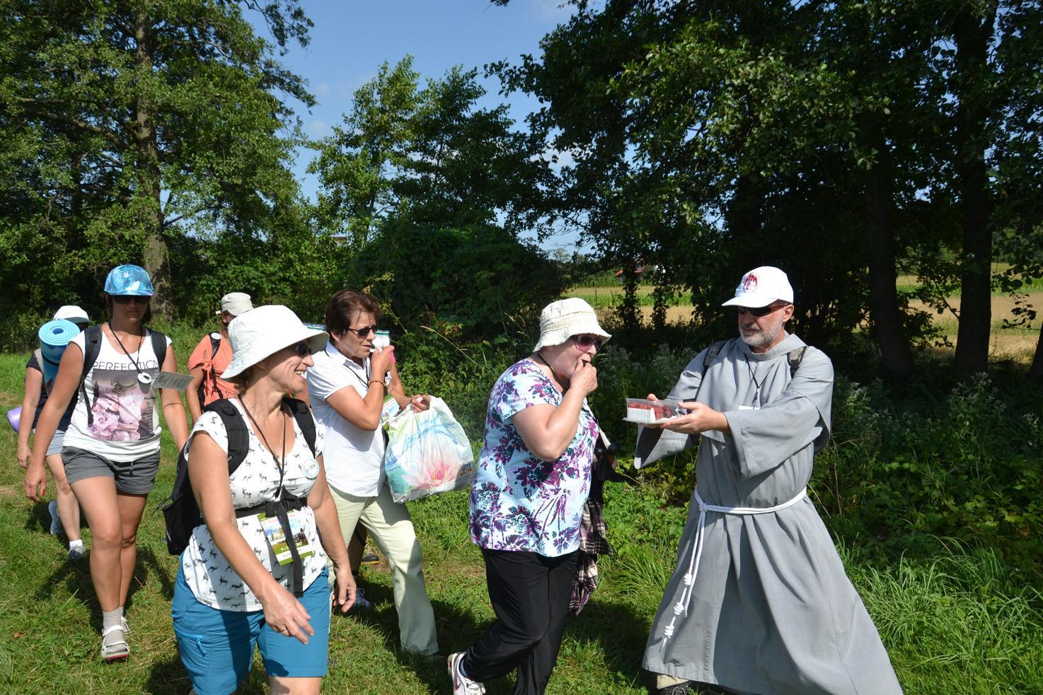 Pierwszy dzień pielgrzymki do Kalwarii Pacławskiej (56)