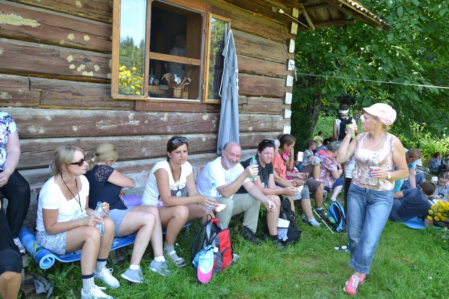 Pierwszy dzień pielgrzymki do Kalwarii Pacławskiej (70)