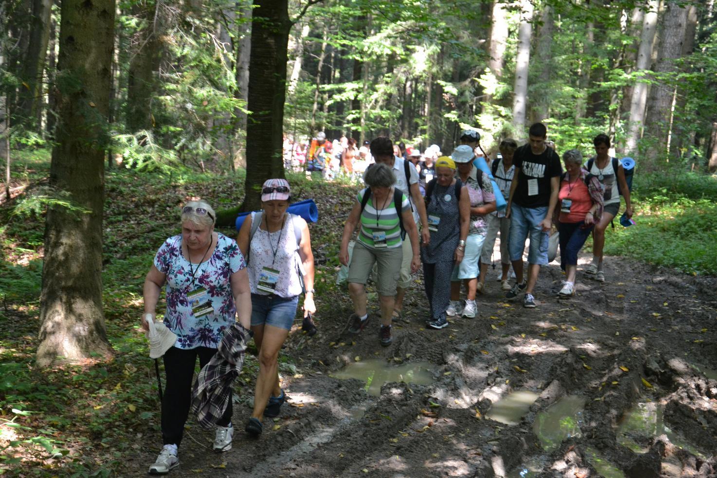 Pierwszy dzień pielgrzymki do Kalwarii Pacławskiej (77)