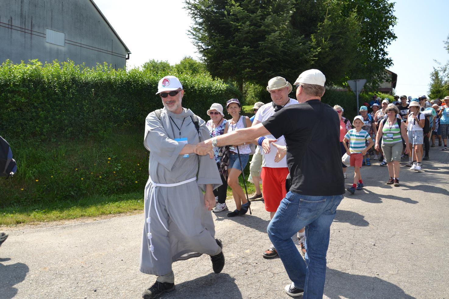 Pierwszy dzień pielgrzymki do Kalwarii Pacławskiej (81)