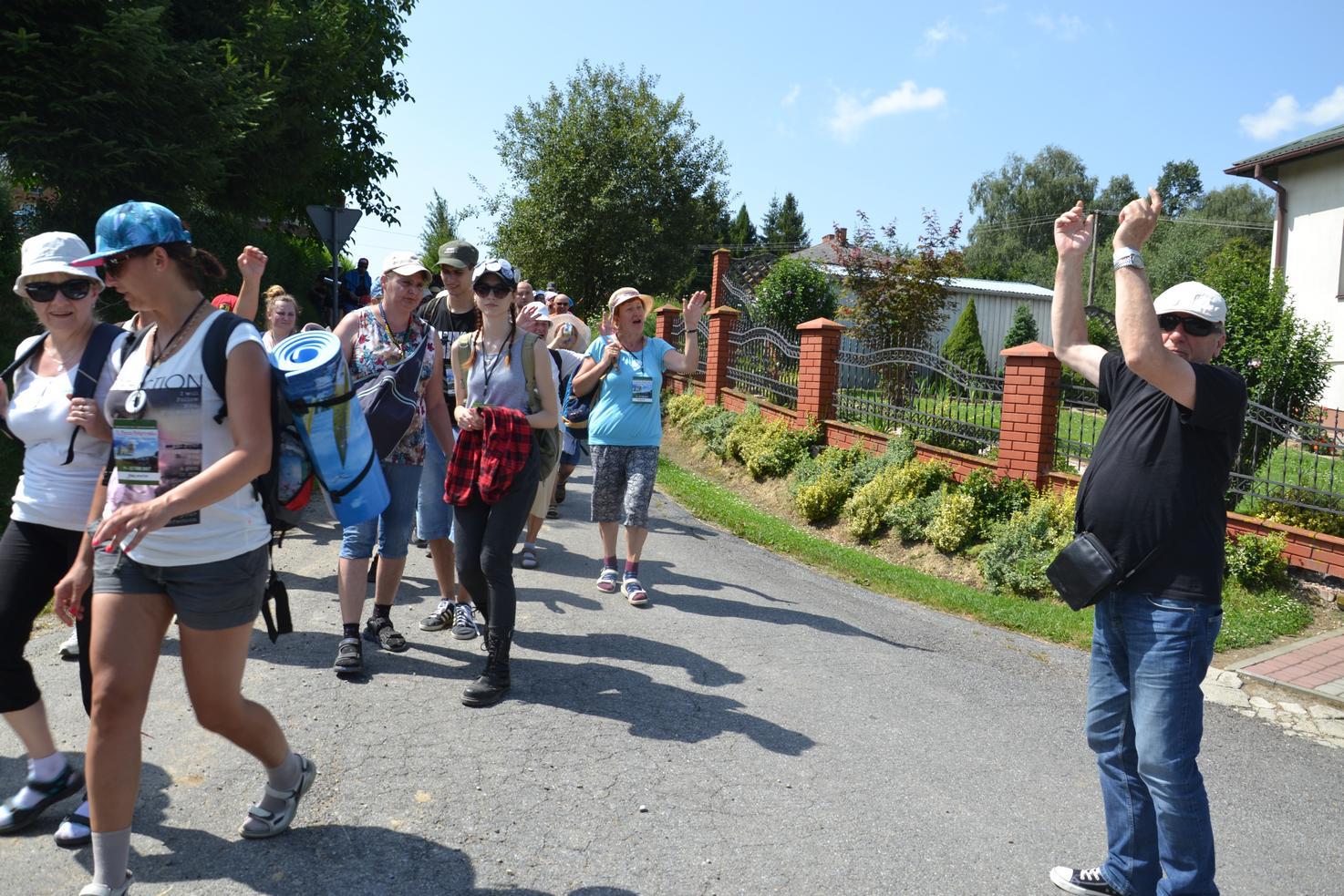 Pierwszy dzień pielgrzymki do Kalwarii Pacławskiej (82)