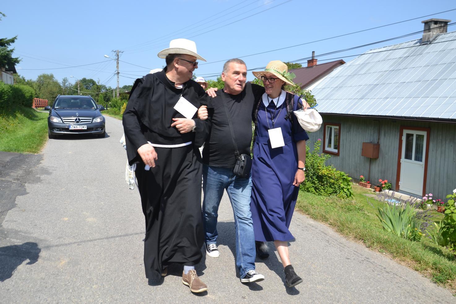 Pierwszy dzień pielgrzymki do Kalwarii Pacławskiej (83)
