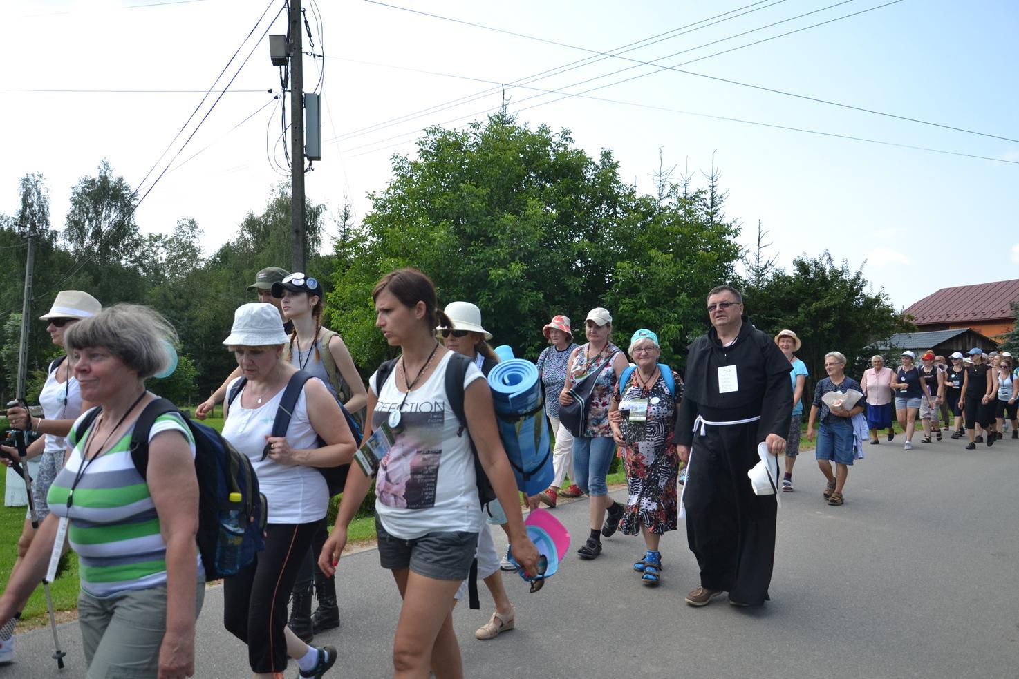 Pierwszy dzień pielgrzymki do Kalwarii Pacławskiej (91)
