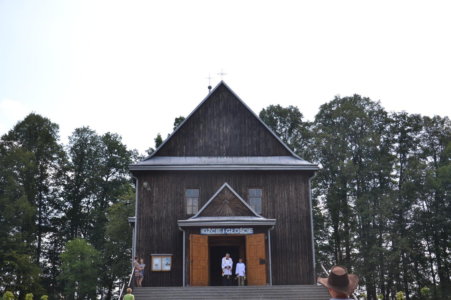 Pierwszy dzień pielgrzymki do Kalwarii Pacławskiej (94)