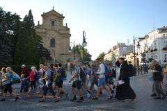 Pierwszy dzień pielgrzymki do Kalwarii Pacławskiej (06)