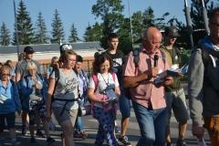 Pierwszy dzień pielgrzymki do Kalwarii Pacławskiej (08)