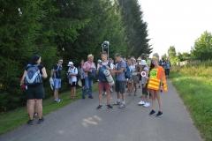 Pierwszy dzień pielgrzymki do Kalwarii Pacławskiej (127)