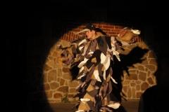 Inscenizacja przy murze franciszkanów - Wjazd króla do Krosna(03)