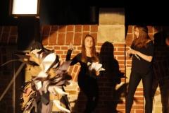 Inscenizacja przy murze franciszkanów - Wjazd króla do Krosna(04)