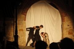 Inscenizacja przy murze franciszkanów - Wjazd króla do Krosna(10)