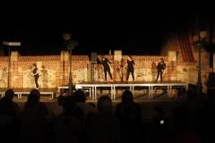 Inscenizacja przy murze franciszkanów - Wjazd króla do Krosna(11)