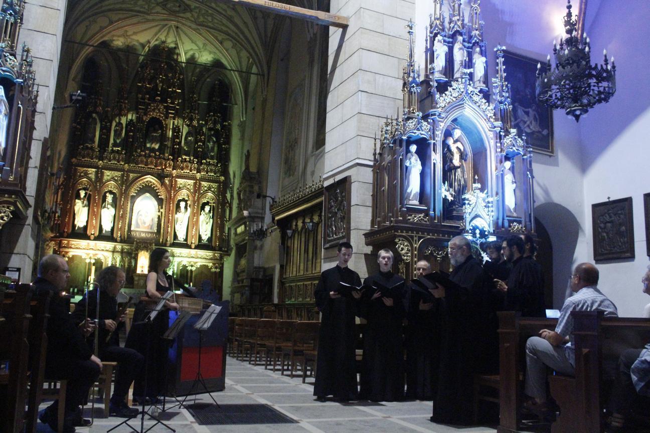 Koncert w kościele - Wjazd króla do Krosna(11)