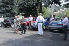 Poświęcenie samochodów z okazji świętego Krzysztofa (1)