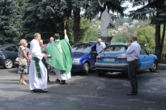 Poświęcenie samochodów z okazji świętego Krzysztofa (6)