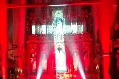 Efekty świetlne w czasie Bilijnej Drogi Krzyżowej z koncertem pieśni pasyjnych (27)