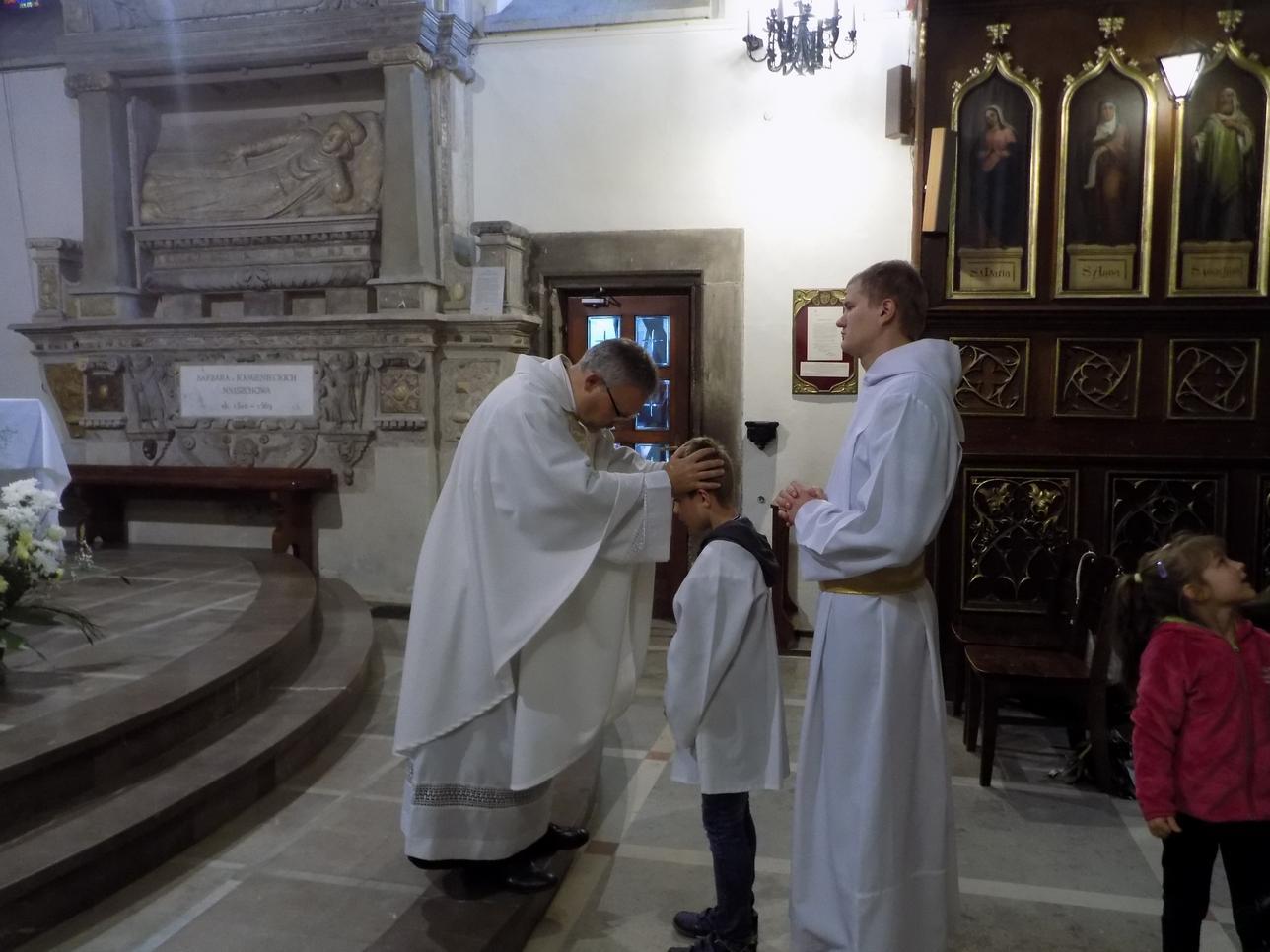 Misje Parafialne (07) dzień drugi Błogosławieństwo dzieci