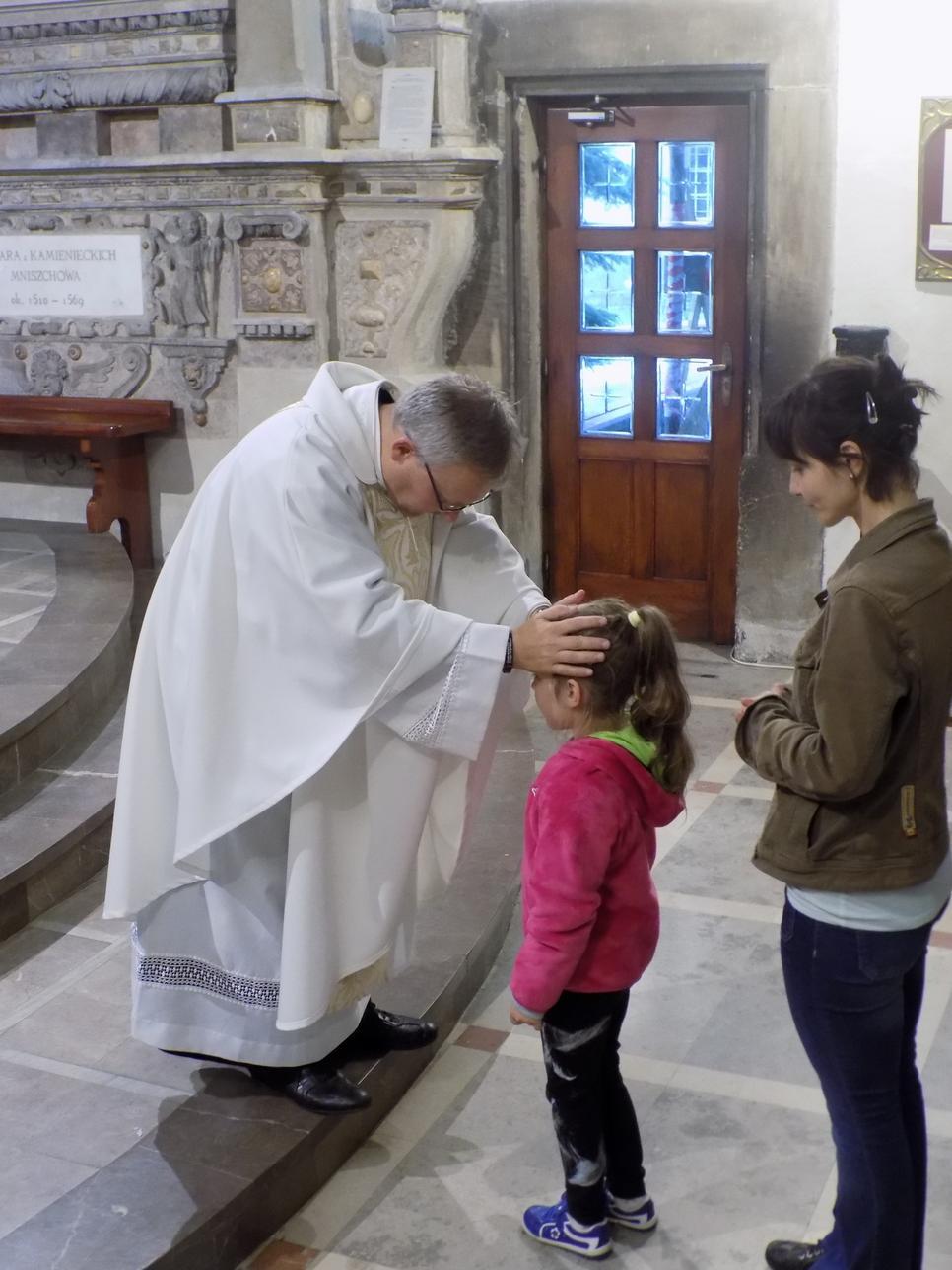 Misje Parafialne (08) dzień drugi Błogosławieństwo dzieci