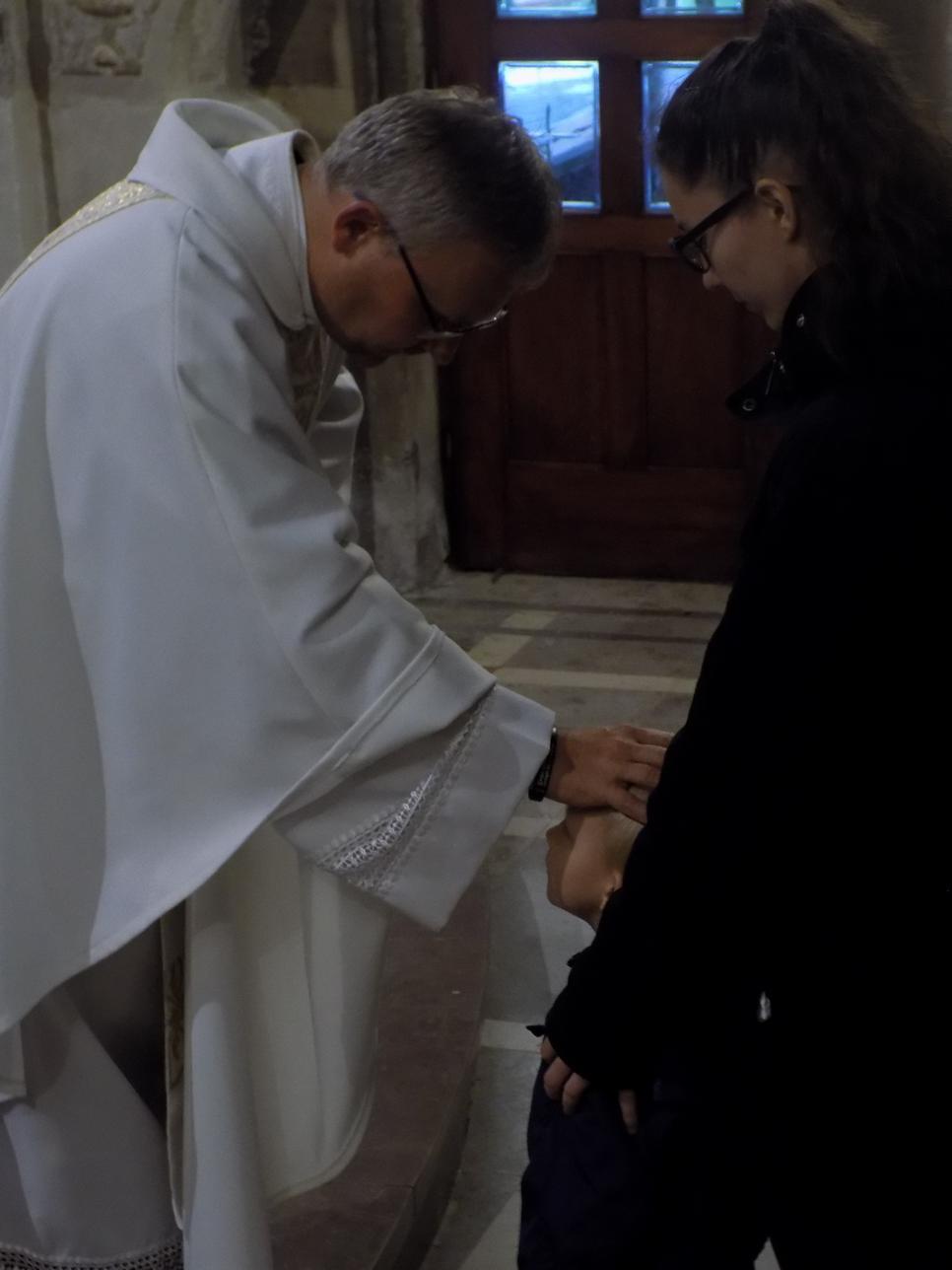 Misje Parafialne (11) dzień drugi Błogosławieństwo dzieci