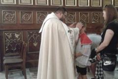 Oktawa Bożego Ciała (21) zakończenie - błogosławieństwo dzieci