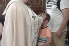 Oktawa Bożego Ciała (23) zakończenie - błogosławieństwo dzieci