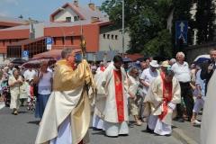 Procesja Bożego Ciała ulicami Krosna (07)