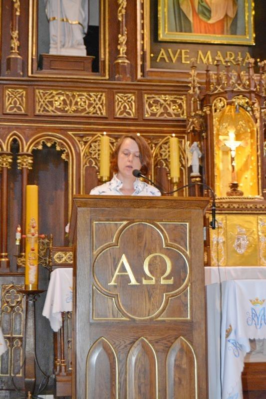 Przedszkole sióstr Józefitek na Mszy Świętej o 11 (07)