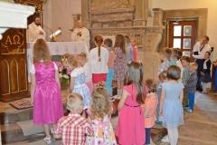Przedszkole sióstr Józefitek na Mszy Świętej o 11 (04)