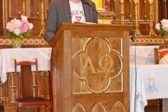 Przedszkole sióstr Józefitek na Mszy Świętej o 11 (05)