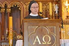 Przedszkole sióstr Józefitek na Mszy Świętej o 11 (06)