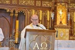 Przedszkole sióstr Józefitek na Mszy Świętej o 11 (09)