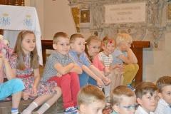 Przedszkole sióstr Józefitek na Mszy Świętej o 11 (12)