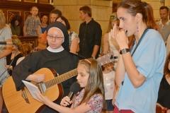Przedszkole sióstr Józefitek na Mszy Świętej o 11 (19)