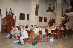 Wyjście 16 pielgrzymi do Kalwarii Pacławskiej (17)