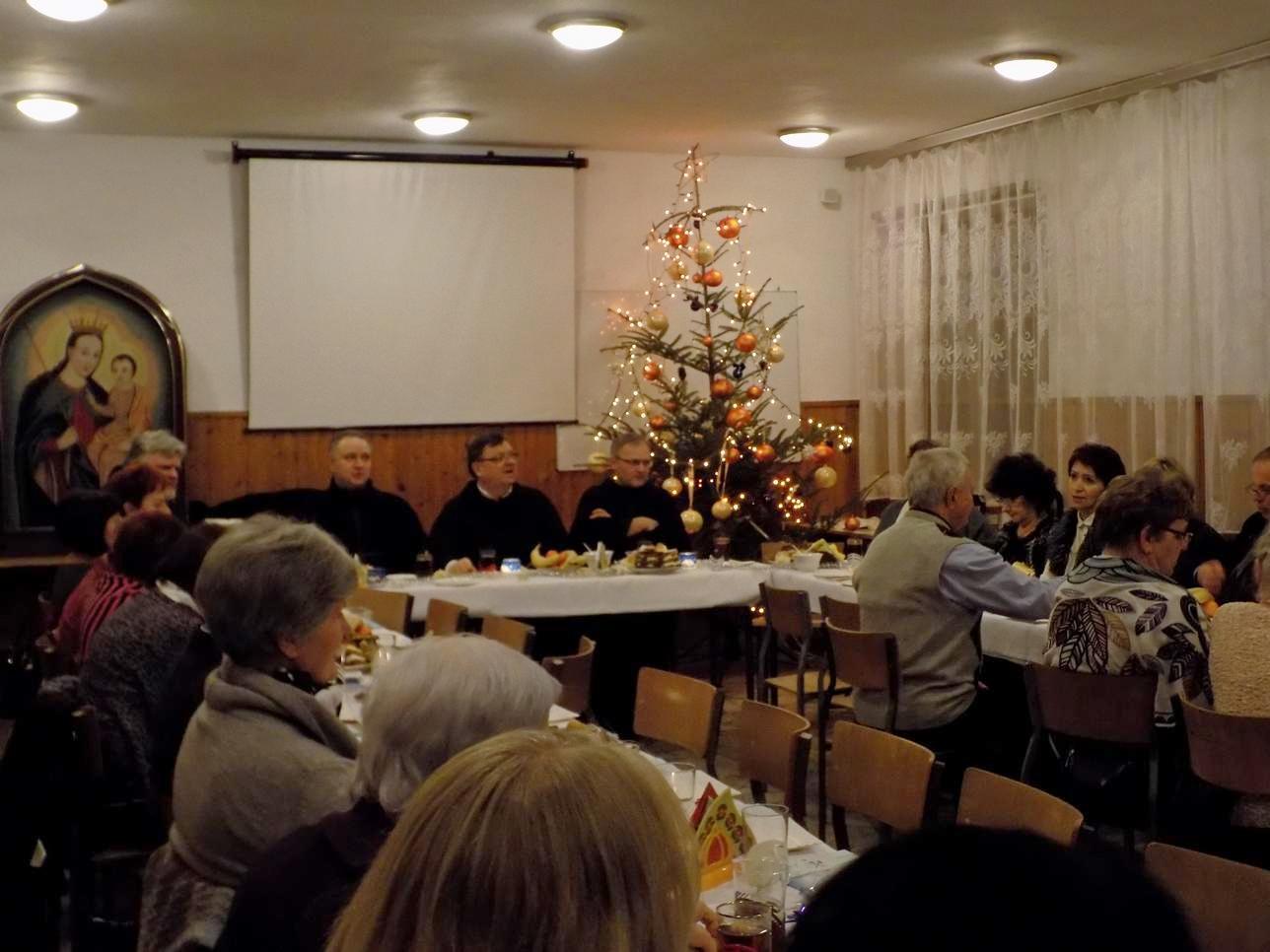 Spotkanie Opłatkowe FZŚ-MI-Żywego Różańca i Kręgu Biblijnego (4)