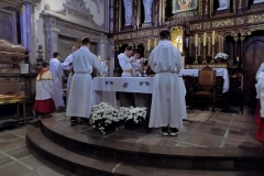 Uroczystość Chrystusa Króla Wszechświata- przyjęcie nowych ministrantów (02)