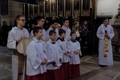 Uroczystość Chrystusa Króla Wszechświata- przyjęcie nowych ministrantów (11)