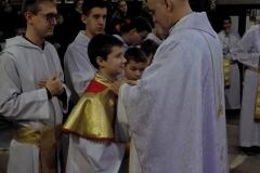 Uroczystość Chrystusa Króla Wszechświata- przyjęcie nowych ministrantów (12)