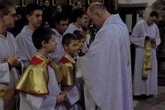 Uroczystość Chrystusa Króla Wszechświata- przyjęcie nowych ministrantów (13)