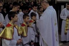 Uroczystość Chrystusa Króla Wszechświata- przyjęcie nowych ministrantów (14)