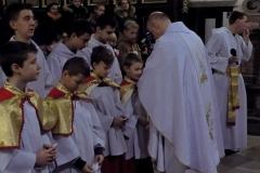 Uroczystość Chrystusa Króla Wszechświata- przyjęcie nowych ministrantów (15)