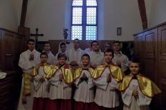 Uroczystość Chrystusa Króla Wszechświata- przyjęcie nowych ministrantów (16)