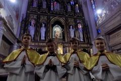Uroczystość Chrystusa Króla Wszechświata- przyjęcie nowych ministrantów (17)