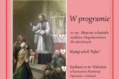 Walentynka dla Jezusa 15 lutego 2020